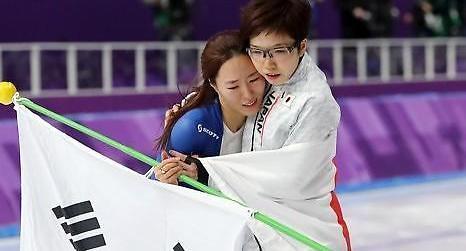 '한일 우정' 고다이라, 이상화 경기 후 안아줬던 이유는?