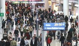 .今年1月访韩外国游客减少 中国人同比锐减近五成.