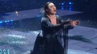 불후의 명곡 첫 출연 정영주, 1승 심금 울린 무대
