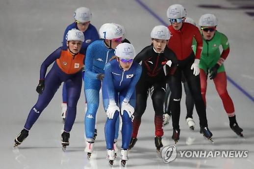 [평창] 김보름, 매스스타트 '여유만만' 결승 진출…박지우 '탈락'