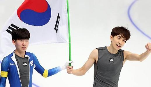 [평창]역시 이승훈…메스스타트 금메달 '영예'