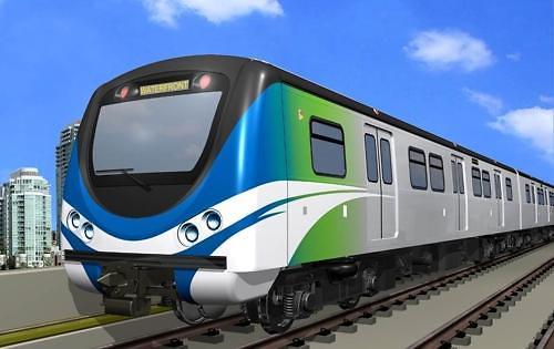 现代Rotem无人电动列车开进温哥华 时速达90公里