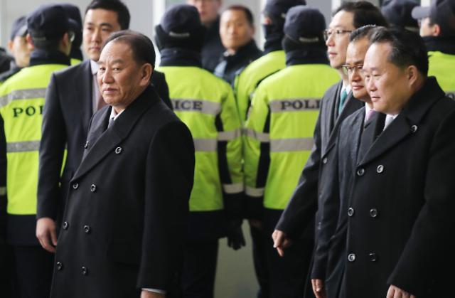金英哲率领的朝鲜高层代表团返朝
