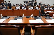 '임종석 불출석' 국회 운영위, 5분 만에 또 파행