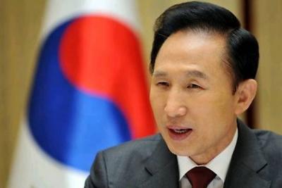 韩检方14日传唤调查前总统李明博