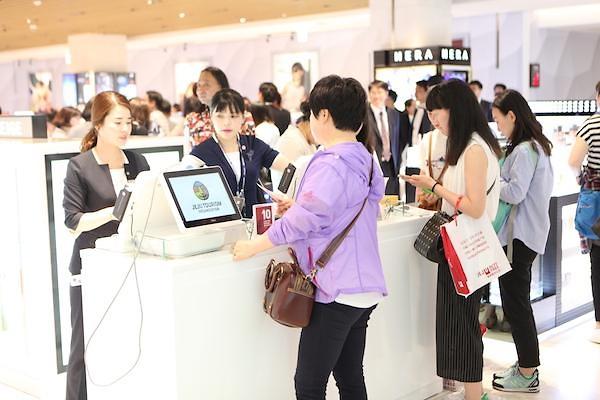 去年韩国免税店揽客手续费史上首破1万亿韩元