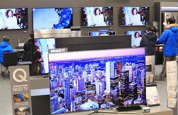 """搞个""""大""""事情! 韩75英寸以上电视市场三星占九成"""