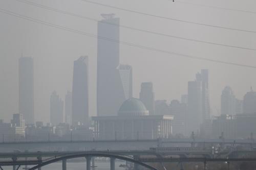 """韩中环境合作中心6月落户北京 合作""""攻关""""雾霾"""