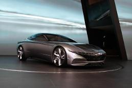 .Hyundai unveils glimpse of future with concept car at motor show.