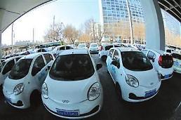 """.出租车业把现代汽车的""""韩版优步""""计划搅黄了."""