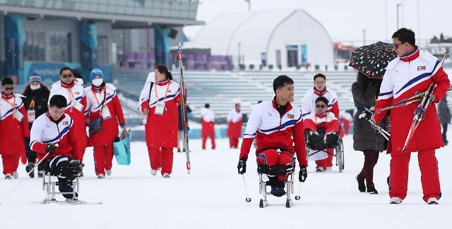 韩政府将拨款77万元资助朝鲜参加平昌冬残奥会