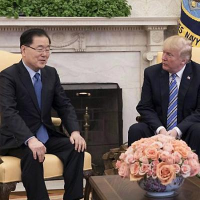 트럼프와 김정은 만남, 역사적인 성과 이뤄낸 정의용 실장