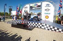 現代車、WRCメキシコ・ラリーでも強力な性能立証…製造会社1位に