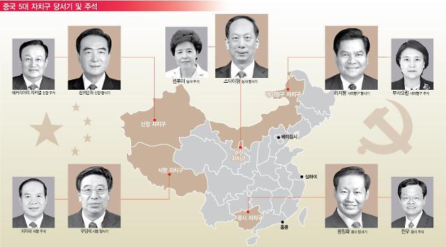 [시진핑 新시대 지방지도자②] 5대 자치구 당서기·주석…