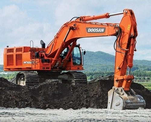 斗山现代挖掘机在华市场份额持续上升