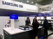 サムスンSDI、ESS高容量バッテリーセルなどの新製品公開