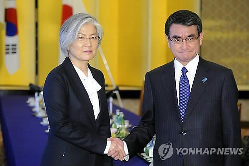 韩日外长周末在美举行会谈
