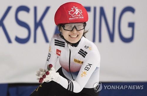 여제 최민정, 2018 쇼트트랙 세계선수권서 2관왕...황대헌, 500m 金