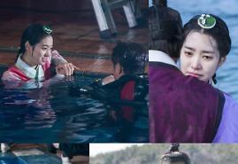 대군 진세연, 수중 촬영 비하인드컷 공개…추위도 물리친 연기열정