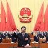 [영상중국] 시진핑 주석 - 왕치산 부주석, 전인대 위풍당당 헌법선서