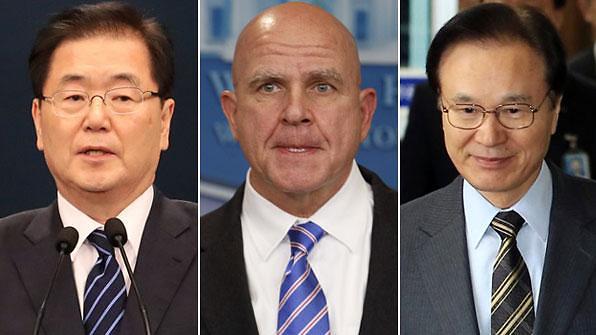 韩美日安保负责人上周在美国会晤