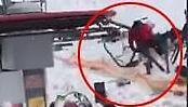 [영상딱]스키장이 아수라장으로