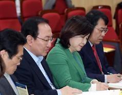 평화당-정의당, 공동교섭단체 협상 본격 시작…초대 지도부 구성 놓고 '기싸움'