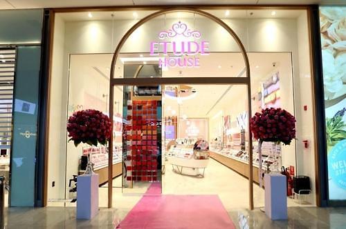 伊蒂之屋入驻迪拜购物商场 创亚洲彩妆品牌先河