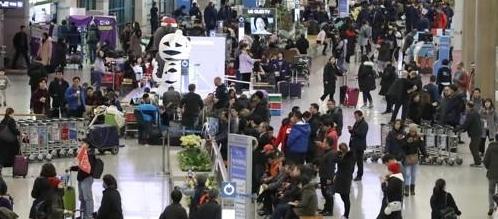 2月访韩中国游客小幅增加 逾36万人