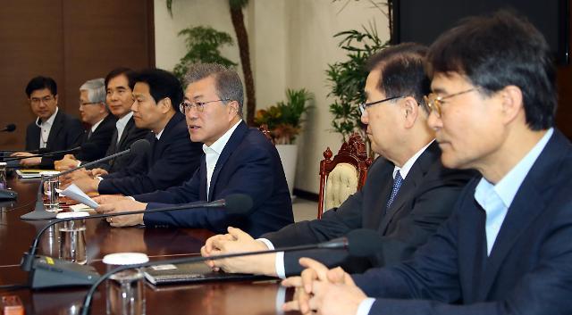 文在寅:是否举行韩朝美首脑会谈视情况而定