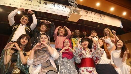 第21届全球外国人韩语演讲比赛5月举行