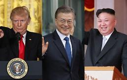 .白宫对举行韩朝美三方对话表谨慎态度.
