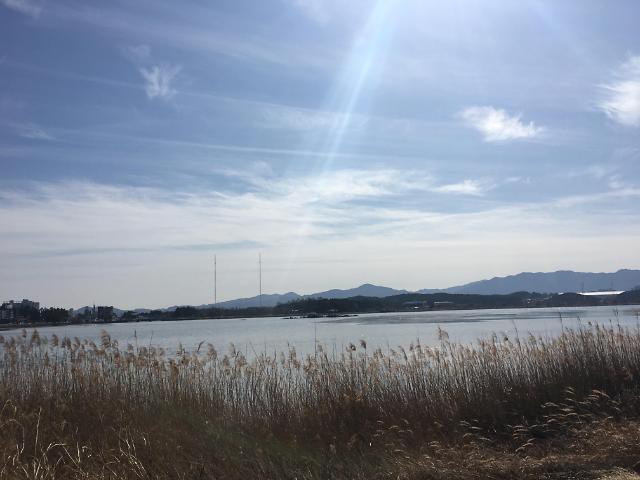 [AJU VIDEO] 镜浦湖的黄昏 悠然自在