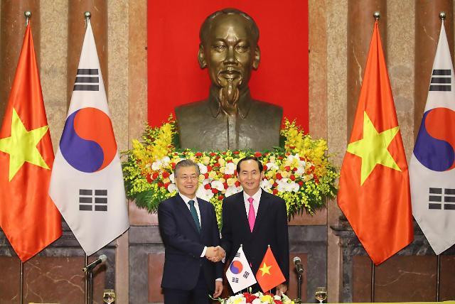 韩越首脑会谈在河内举行