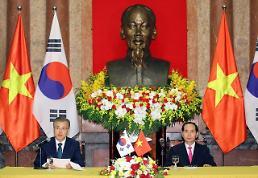 .韩越首脑会谈在河内举行 发表面向未来共同宣言.