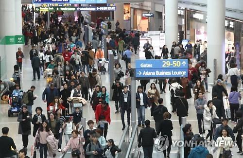 冬奥春节推高韩2月国际航线旅客吞吐量