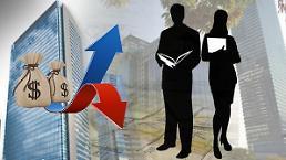 .大企业果真是潜力股? 与中小企业20年工资差近4000万韩元.