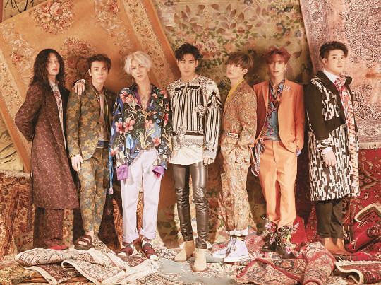 Super Junior回归宣传照公开 充满异国风情