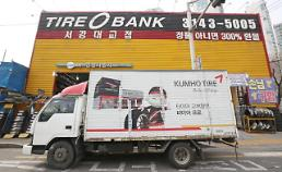 .Creditors negative over domestic companys sudden bid for Kumho Tire.