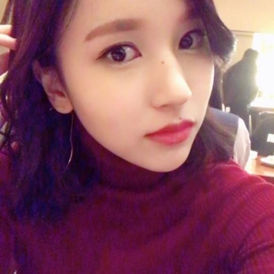 TWICE成员Mina发美照 感谢粉丝为其庆生