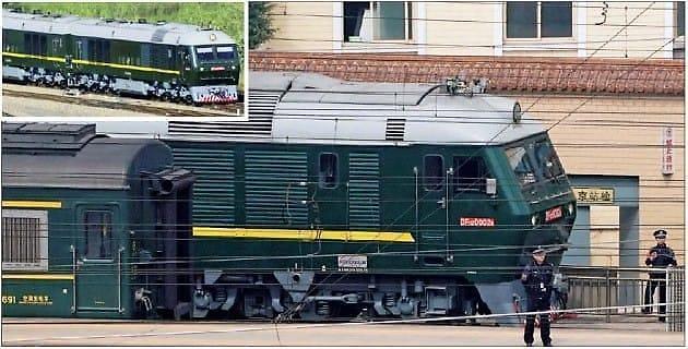 金正恩访华乘坐的火车有什么讲究?