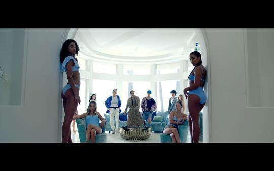 WINNER新曲MV预告公开 强烈视觉效果引期待