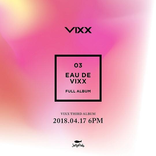 男团VIXX下月17日携第3张正规专辑回归