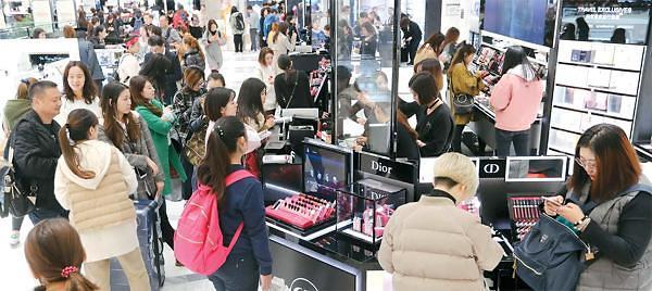 多种利好因素提振韩国股市 化妆品和免税店成亮点
