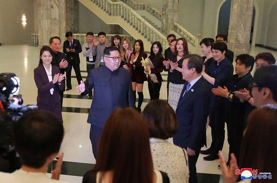 朝鲜就韩国艺术团随行记者采访受限道歉