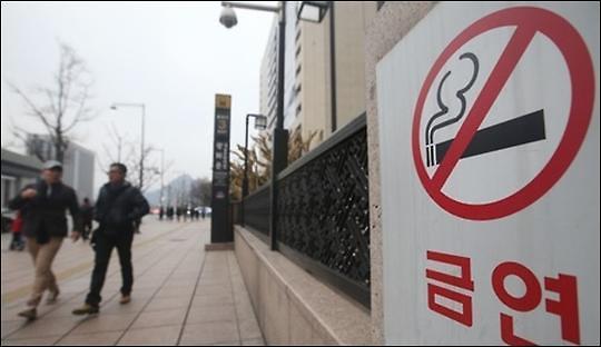12月起在幼儿园附近吸烟将被罚款10万韩元