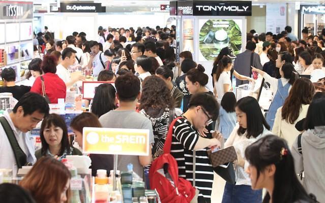 韩免税店因萨德叫苦 去年业绩普遍低迷