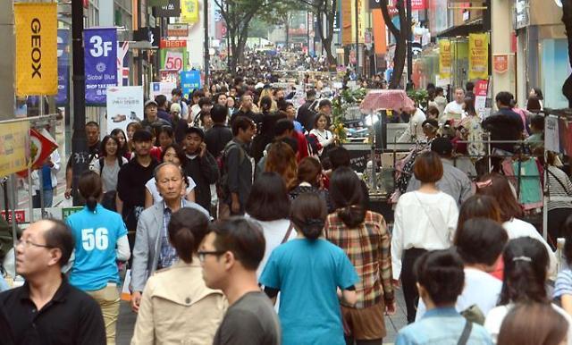 韩就业市场低迷老龄化问题加剧 去年居民消费占GDP比重创新低