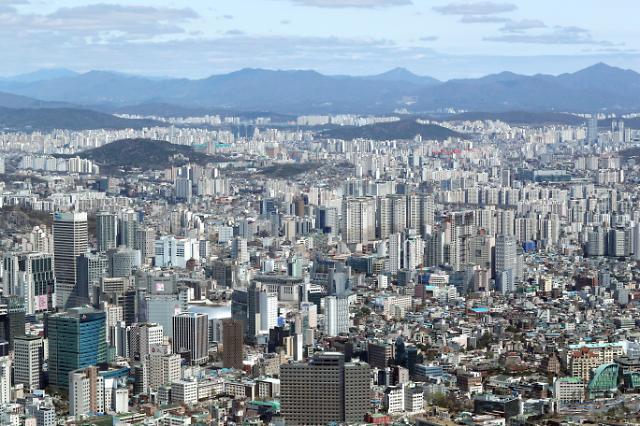 首尔天空美如画