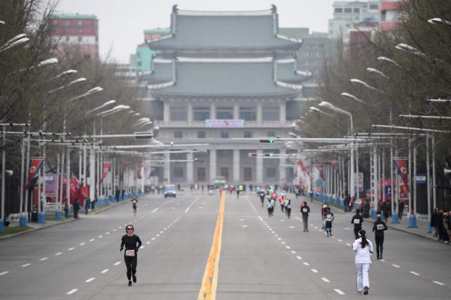 平壤国际马拉松大会 外国选手大幅减少